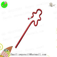 Customized child shape pencil LH-330,