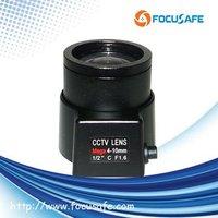 """4-10mm 2mega pixel Lens with 1/2"""" format for IP Camera"""