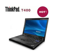 Used laptop lenovo Thinkpad T400s Core Duo P9400 2.26G 2G/160G 14-inch widescreen ultrathin Wifi bluetooth  Webcam win7 notebook