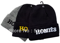 free shipping  HOMIES in Black  fashion beanies for men cap caps women hat hats ssur fuckdown
