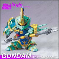 DECOO A013 SD BB Fighter Q version of the Three True Sangokuden Gundam Japanese cartoons military robot building War model 14cm
