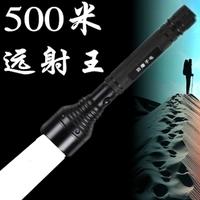 Glare led flashlight charge 500 meters baton flashlight