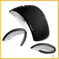 Brand New Colorful 2.4GHz Wireless Foldable Folding Arc Optical Mouse for Microsoft for All Laptop Desktop