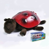 Free Shipping Mp3 tortoise star light romantic projector star light baby turtle lights