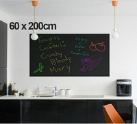 free shipping Extra Large 45*200cm cheap sale novelty item Cut at random Board Blackboard Sticker Removable Vinyl Wall Decal
