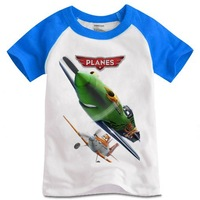 Planes Movie  T-shirts  Children's Clothing with short sleeves