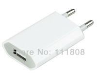 New EU Europe Travel Wall USB Charger Adapter for Mobile Phone