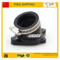 30mm intake pipe Manifold Pipe  200cc 250cc ATV Dirt Bike part zongshen loncin lifan engine free shipping