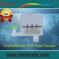 Buy 5lots get 15pcs free!! big filter big connector big damper single row for RS/VP/SP/SC/SJ/XC/FJ/SJ printer roland damper