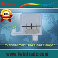 Hot!!! big filter small connector big damper single row  for dx4/dx5 machine roland sj1000 damper