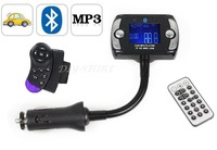 "Bluetooth 1.5"" LCD Car Kit MP3 Player FM Transmitter Modulator Remote Control USB / TF / SD / MMC Support"