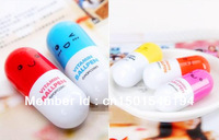 Novelty Items, Cute Lovely Vitamins Capsule Pill Ball Pen, Korean Kawaii Stationery Wholesale 50pcs/lot