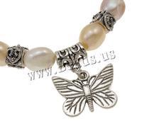Free shipping!!!Freshwater Cultured Pearl Bracelet,Vintage, 9-10mm, Length:7.5 Inch, 12Strands/Bag, Sold By Bag