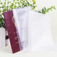 Free Shipping!PVC transparent passport holder,waterproof passport bag,Scratch-resistant card holders,traveling passport holder