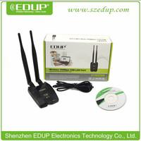 Free Internet 150Mbps EDUP Lan Adapter Ralink RT3070 Wireless Wifi USB Lan Adapter Wireless Hack With External wifi Antenna
