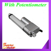 Free shipping 12VDC/ 225lbs load capacity,300mm/ 12 inch stroke actuator linear with position feedback, linear actuator with POT