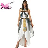 greek goddess dress HOT sale Halloween costume clothing greek goddess the queen of Egypt women white dress HXL003
