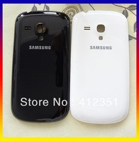 Black/White/Blue Color New Original back battery cover case door housing For Samsung Galaxy S III S3 Mini i8190, Free Shipping