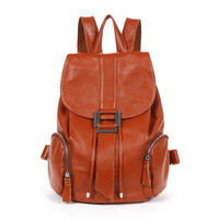 Vintage 2013 preppy style backpack genuine leather backpack casual women's handbag travel bag bags