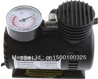 Free shipping+NEW 300 PSI 12V Car Auto Portable Pump Tire Tyre Inflator Mini type Compressor, Mini air Compressor