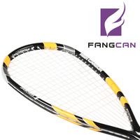100% Graphite One-piece Squash Racket Racquet Men Women Professional Level High Quality With Cover,Overgrip,Strings 1 piece