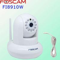 Wholesale Genuine Foscam FI8910W Wireless Night Vision IP Camera CCTV WiFi b/g/n IR-Cut  free DDNS