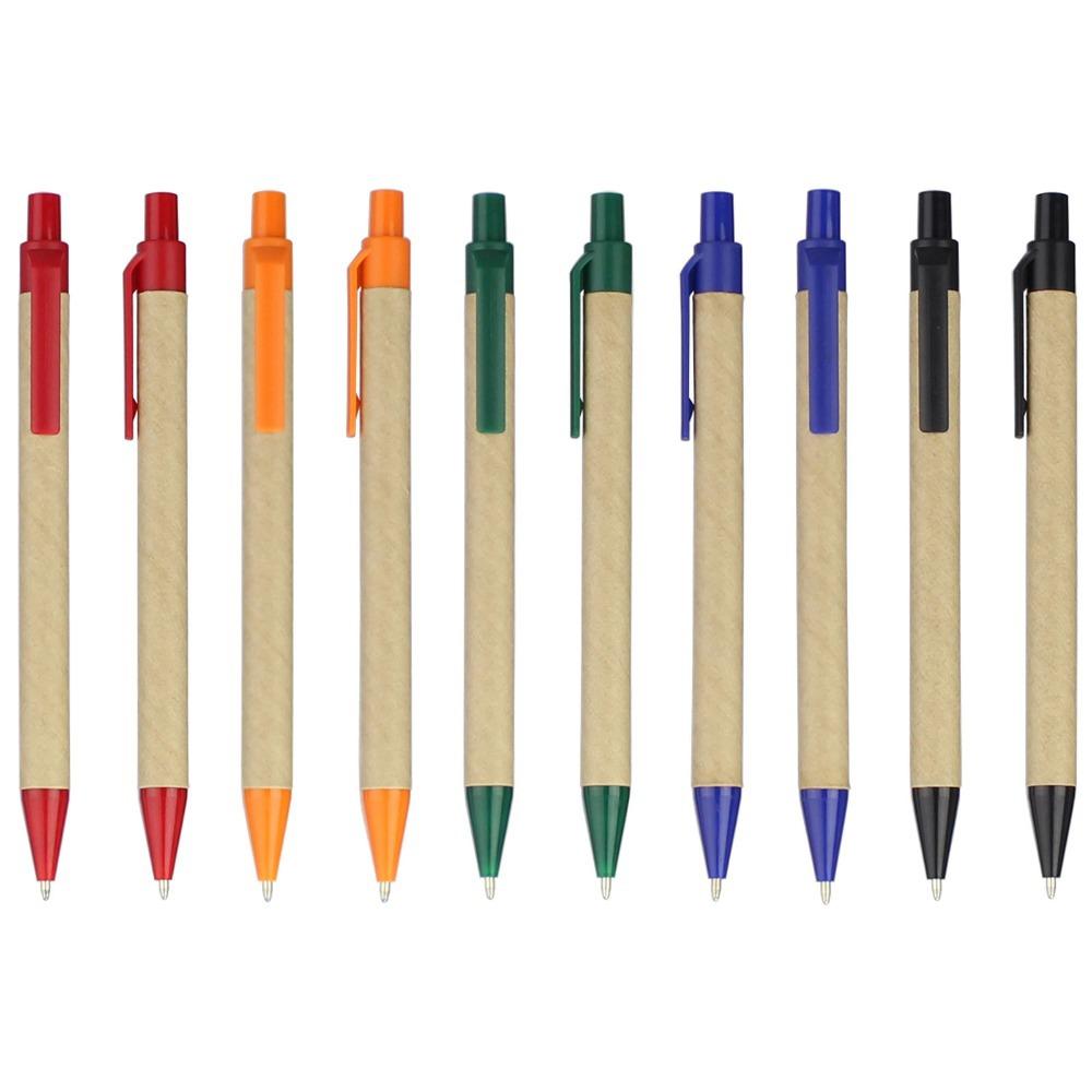 Lot 1000pcs Eco paper pen,platic clip green concept environmental friendly ball pen wholesale,customized promotion logo gift(China (Mainland))