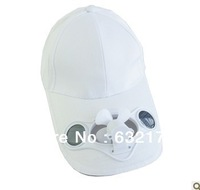 Solar fan baseball cap baseball cap hat summer outdoor tourist fishing hat cap