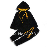 New Fashion Baby Boy and Girls Clothing Set  tracksuit Children sports suit Kids Costumes  Spring Autumn Flannel Outfits