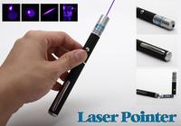High quality Blue Purple Beam light 5mw 405nm Laser Pointer Laser Pen Presentation free shipping