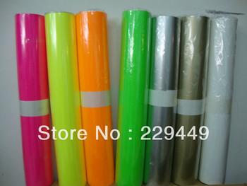 50cm*5m Black roll heat transfer vinyl paper /pvc paper/pu paper for clothing /t-shirt