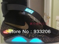 Free shipping The new Exclusive limited back to the future 2 rechargeable lamp shoes basketball shoes
