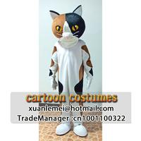 Cartoon cat costume or Cartoon cat doll costume