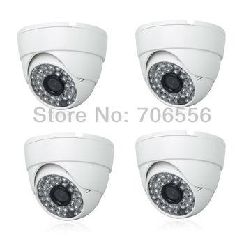 4pcs SONY Color High Resolution CCD CCTV Surveillance 420TVL Varifocal waterproof Night Vision IR Camera AR-VG100