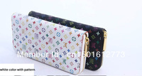 2013 new slim wallet men PU high quality men wallets  4 patterns hot cool the man purse free shipping in stock purse men