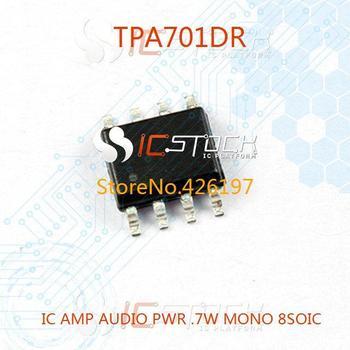 TPA701DR IC AMP AUDIO PWR .7W MONO 8SOIC 701 TPA701 TPA701D 701D A701