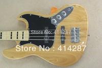 free shipping new arrival bass guitar black block inlay 4 string jazz bass artist series geddy lee bass alder wood body AAA