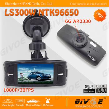 Super Night Vision LS300W Full HD Camcorder Best Dash Camera GT300W support WDR + Motion detection + H.264 + G-Sensor