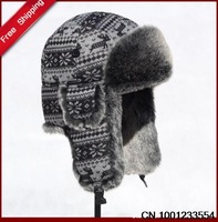 Free shipping  2013 New Arrival Lei feng cap winter cotton cap thermal ear skiing flying hat for men's & women  H0005