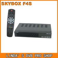 Original Skybox F4S full HD satellite receiver with GPRS function VFD Display support usb wifi weather forecast free shipping