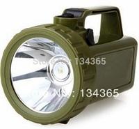 Built-in 5500mAh high capacity battery rainproof  800m rang high brightness 3W LED handheld light