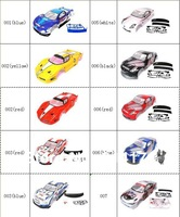 1/10 rc car body shell  for 1:10 R/C racing car 190mm  henglong  hsp 2pcs/lot   free shipping