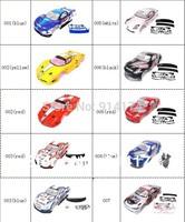1/10 rc car body shell  for 1:10 R/C racing car 190mm  henglong  hsp 2pcs/lot   free shipping
