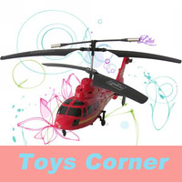 DONGHUANG(DH827B) Omnidirection Control RC Infrared Coaxial 4CH Alloy Resume Helicopter