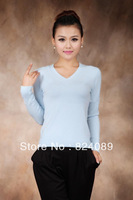 Женский кардиган 2013 autumn women's gradient color sweater female cardigan thin sweater air conditioning shirt