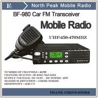 Mobile Radio FM Transceiver,North Peak Car radio BF-980,Dual Band FM Transceiver,