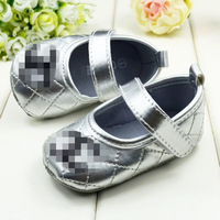 new 2013 1pair Retail Free Shipping & Top quality Girls Shoes with Hook&Loop Shoes kids for Infant Newborn Baby, 3colors options