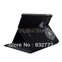 *Hot ! 2013 New Dandelion Magnetic Synthetic Leather Stand Print Case Smart Cover For iPad 2 3 4 14691 14692 14693 14694