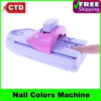 7 Colors DIY Nail Printer Pattern Nail Polish Printing Machine Nail Art Stamping Machine