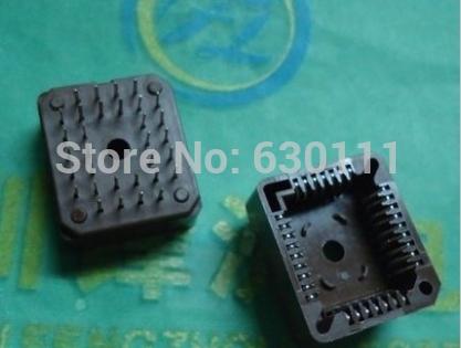 Free Shipping 50 PCS PLCC32-DIP IC Socket , PLCC32 DIP Socket adapter , 32 Pin PLCC Converter(China (Mainland))